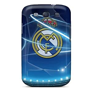 Awesome Design Real Madrid Champions League Hard Cases Covers For Galaxy S3