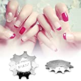 Rolabling 11 Sizes Edge Trimmer Nail Art Manicure Nail Cutter Tools French Smile Line Acrylic Gel Nail Tools