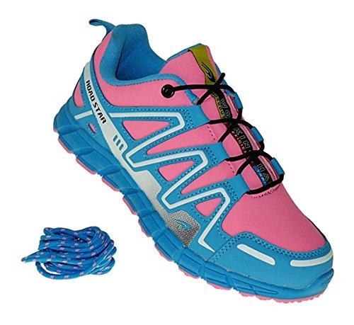 Sportschuhe Mehrfarbig Neon Damen Bootsland 642 Turnschuhe Sneaker InW8Uw7Yqw