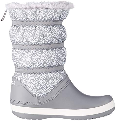 De Neige Multicolore Crocs Bottes dots Crocband Femme Winter Boot smoke Women qxnXfgn