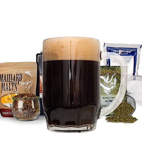 Peace Coffee 2nd Crack Stout - Homebrew Beer Recipe Kit - Malt Extract, Ale