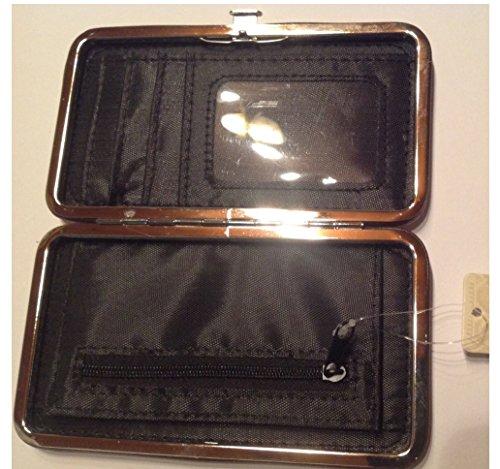 Clayre & Eef FAP0093-7 Börse Geldbörse Kosmetiktasche Etui Portemonnaie Geldbeutel Tasche Schuhe ca. 15 x 9 cm 3RheHFy5qy