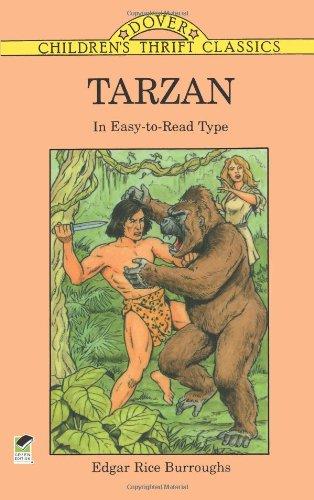Download Tarzan: In Easy-to-Read Type (Children's Thrift Classics) PDF
