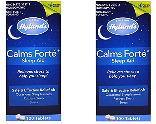 Calms Forte Hylands 100 Tabs (100-Pack of 2)