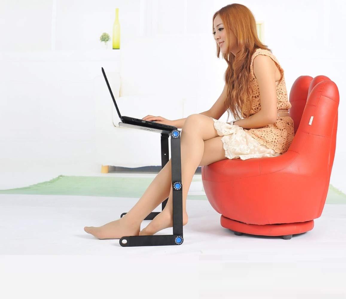 WEII Soporte para Laptop Mesa Portátil de Creativa,Negro,Una Computadora Mesa de Ordenador Plegable Creativa,Negro,Una de Talla 957689