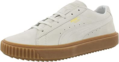 PUMA - Mens Breaker Suede Gum Shoes