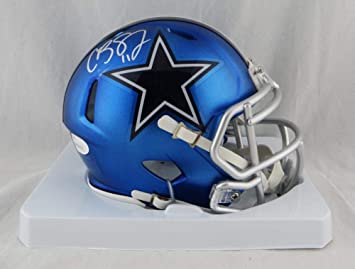 Amazon.com  Cole Beasley Autographed Dallas Cowboys Blaze Mini Helmet- JSA  W Auth Silver  Sports Collectibles 2ded32587
