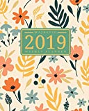 2019 Weekly Planner: Majestic 12 Month Planner, Calendar, Schedule Organizer and Journal Notebook with Inspirational Quotes And Chic Summer Bloom ... December 2019 (2019 Planner Organizer)
