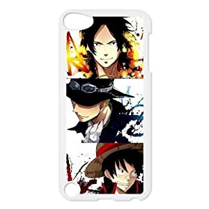 ONE PIECE Series, Black White Plastic Snap On Diy For Iphone 5/5s Case Cover