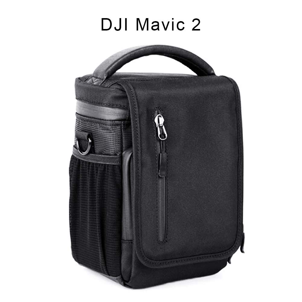 Hobby Ace Portable Shoulder Bag Case for DJI Mavic Pro Mavic 2 Pro Zoom Drone Universal Handbag Waist Bag Fits Mavic Pro 2 Pro Zoom Transmitter Batteries Charger Propeller Fly More Accessories