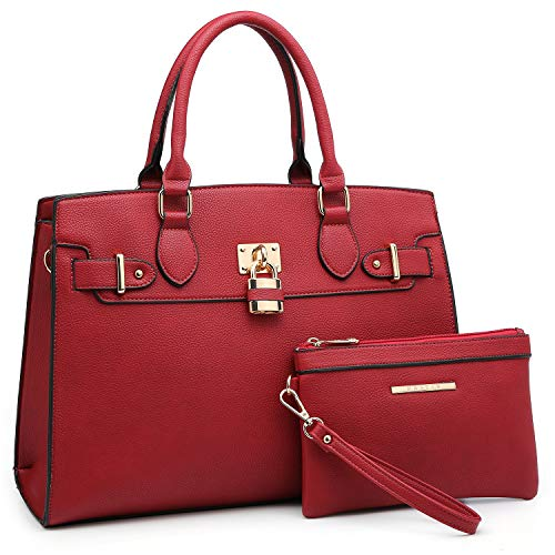 Red Satchel Handbags - 4