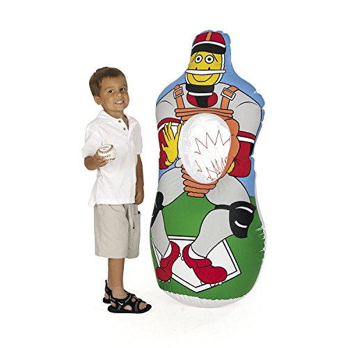 Inflatable Baseball Catch Game by Fun Express