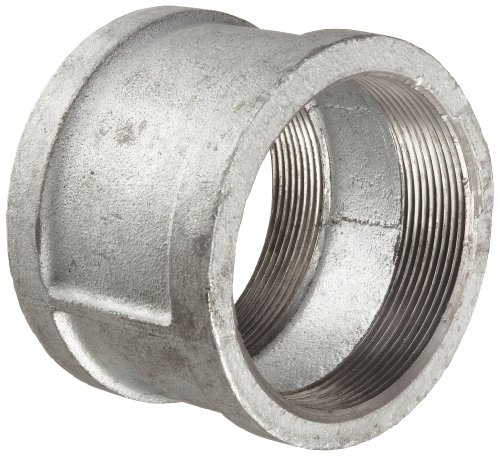 Anvil 8700133450, Malleable Iron Pipe Fitting, Coupling, 1/4