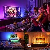 Led TV Backlight, Bason 8.33ft USB Led Lights Strip for TV/Monitor Backlight, Led TV Lights with Remote, 4096 DIY Colors TV Bias Lighting for Room Home Movie