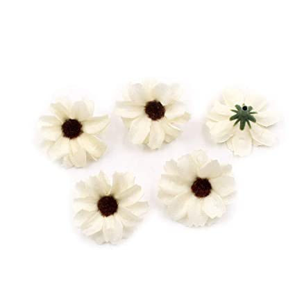 Amazon Flower Head In Bulk Wholesale For Crafts Small Silk
