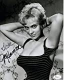 This is a fantastic autographed 8x10 photo of Joy Harmon. Signature is 100% authentic and will come with a JSA COA) James Spence certificate of authenticity). Shipping is free for US customers and all pictures are mailed with cardboard for pr...