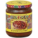 Amy's Organic Black Bean & Corn Salsa 14.7 oz. (Pack of 12)