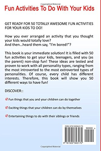 Fun Activities To Do With Your Kids Includes 50 Fun Things To Do
