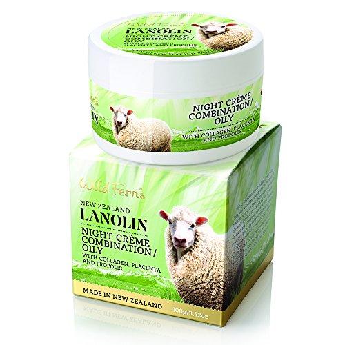 Wild Ferns Lanolin - Wild Ferns Lanolin Night Creme for Combination or Oily Skin