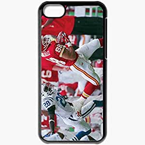 Personalized iPhone 5C Cell phone Case/Cover Skin 1584 kansas chiefs Black