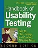 img - for Handbook of Usability Testing: How to Plan, Design, and Conduct Effective Tests book / textbook / text book