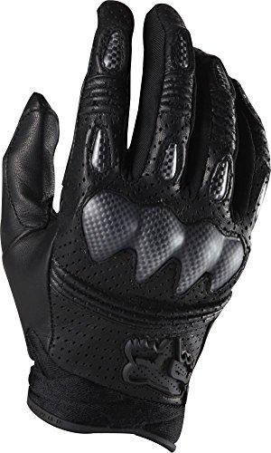 Fox Racing Bomber S Men's Off-Road/Dirt Bike Motorcycle Gloves - Black / (Fox Racing Leather)