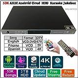 3TB HDD 53K English Filipino Spanish Song Android ECHO Karaoke Machine,Songs Player/Jukebox,English Songs update to 2018