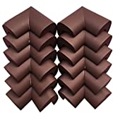 Image of AWESOME 12 PCS Cushiony Table Furniture Childproofing Corner Guards Protectors Baby Safety Extra Dense Non Toxic Edge & Corner Guard Bumpers Coffee