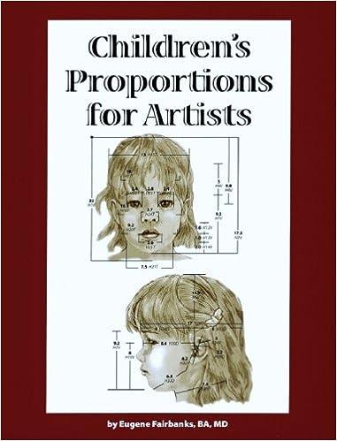 Childrens Proportions For Artists Eugene F Fairbanks