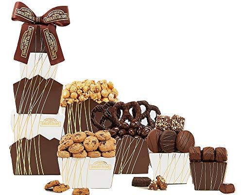Wine Country Gift Baskets Chocolate and Cookie Tower ()