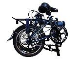 """16"""" 3 Speed IHG Aluminum Folding Bike - Hunter 16"""" Deluxe"""