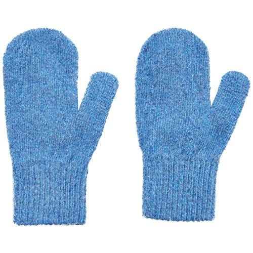 Wool Baby-Toddler Mittens - Light Blue (1-2 (Light Purple Mittens)