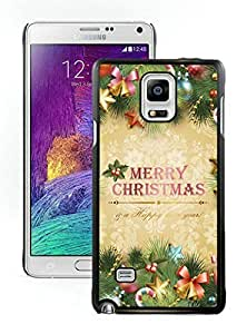 Galaxy note 4 case, Samsung Galaxy note 4 cases,Merry Christmas Samsung Galaxy note 4 Case Black Cover