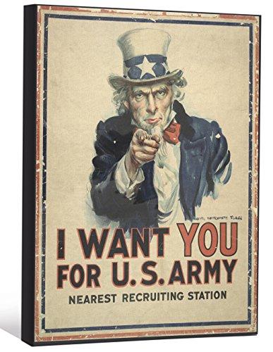 "JP London LCNV2291 I Want You America Army 2"" Thick Heavy..."