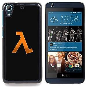 """Media vida"""" - Metal de aluminio y de plástico duro Caja del teléfono - Negro - HTC Desire 626 626w 626d 626g 626G dual sim"""