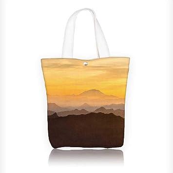 Bolsa de algodón reutilizable con cremallera para bicicleta de montaña y soporte de teléfono. Bolso