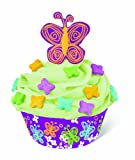 Wilton 415-8040 Butterfly Cupcake Decorating Kit