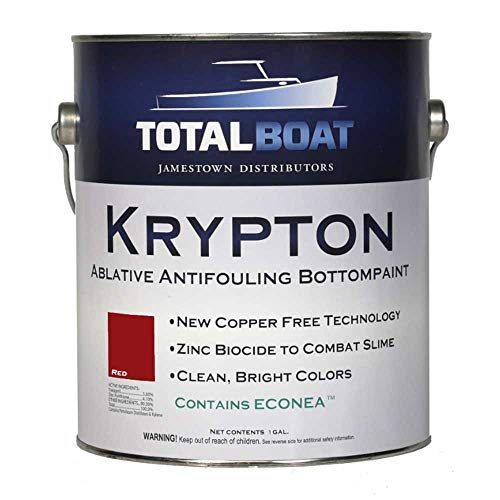 TotalBoat Krypton Bottom Paint (Bright Red, Gallon)