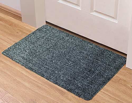 BURID Absorbent Door Mat Indoor Doormat 17.7 X 29.5 Inch Water Ultra Absorbent Front Door Mats Absorbing Extra Super Absorbent Dog Pet Door Mat Highly Absorbable Prevent Mud Dirt Trapper (Highly Water)