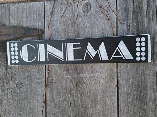 Home Theatre Sign