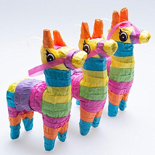 Mini Fiesta Donkey Pinatas by Century Novelty
