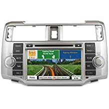 Astrium GEE-1715-NS17 2010-2013 Toyota 4Runner In-dash GPS Navigation Stereo FM AM Radio Bluetooth Head Unit 8 Inch Touch Screen AV Receiver DVD CD USB SD Player OEM Fit Deck NNG iGo Primo HERE Maps