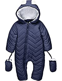Winter California Weatherproof Hooded Baby Snow Suit Winter Bunting Pram