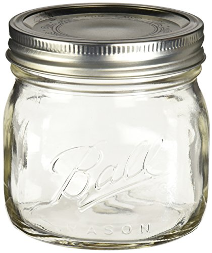 Ball Elite Pint Mason Jar