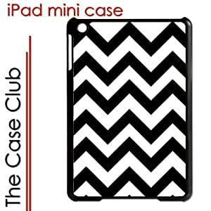 meilinF000iPad Mini Black Protective Hard Case - Chevron Stripes BlackmeilinF000