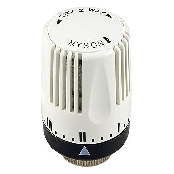 Myson Contrato Termostático Radiador Válvula Repuesto Solo Cabezal (TRV 2 Way): Amazon.es: Bricolaje y herramientas
