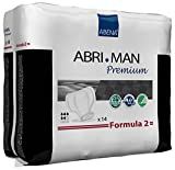 Abena Abri-Man Male Pouch Incontinence Pads, Formula 2 (4 Cases of 168)