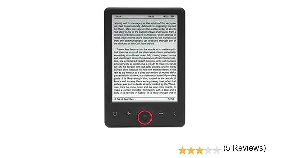 Lector DE Libros ELECTRÓNICO EBOOK Denver EBO-620-6/15.24CM 1024 ...