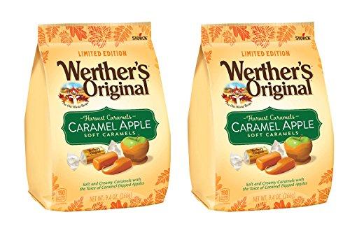 Apple Caramel Candy - Werther's Original Harvest Caramels Apple Soft Caramels 9.4 Oz (Pack of 2)