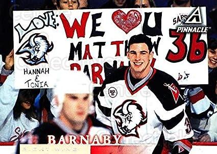 Amazon.com  (CI) Matthew Barnaby Hockey Card 1997-98 Pinnacle (base ... 1286001c4